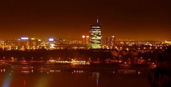 Београд ноћу Фото: Београдске.рс