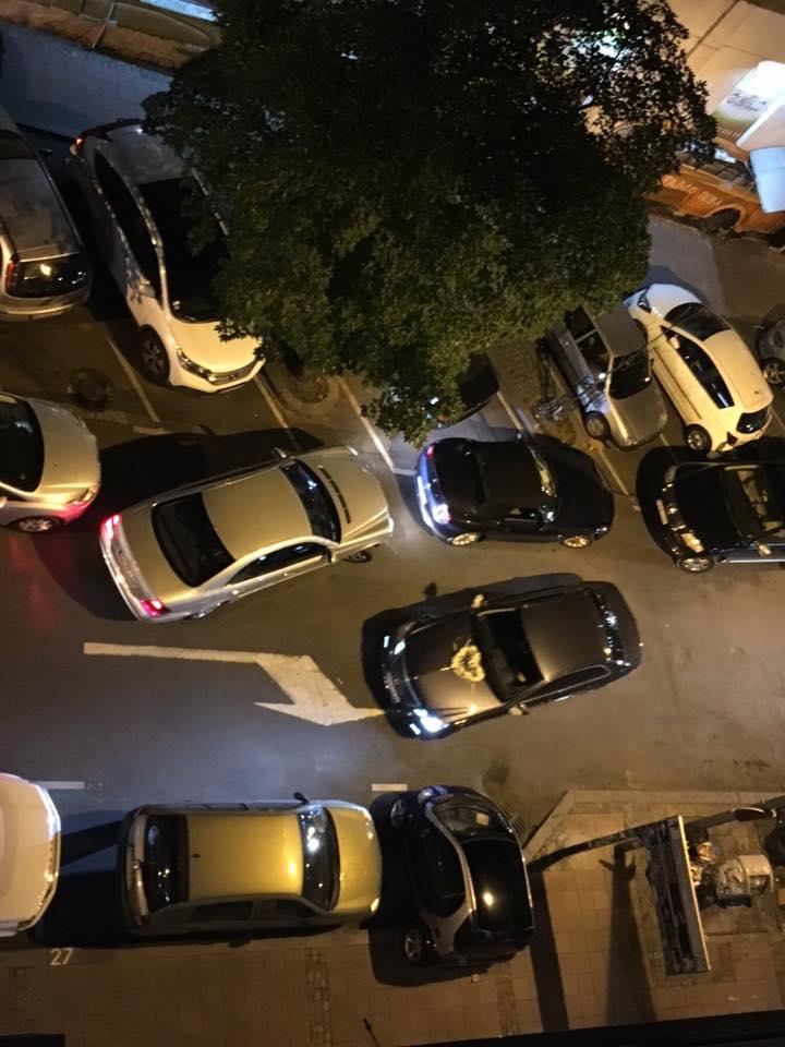 Цетињска улица викендом Фото: ФБ Станари Цетињске