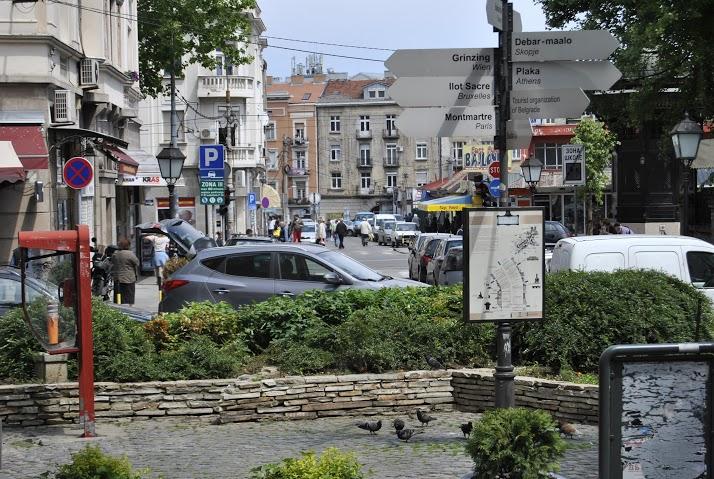 У даљини Бајлони пијаца као потенцијално најлепши трг у Београду Фото: Београдске.рс