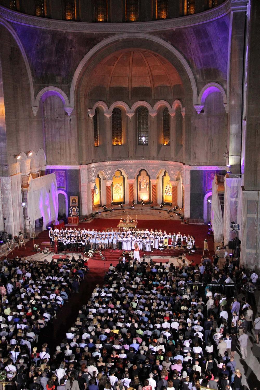 Васкршњи концерт у Храму Светог Саве Фото: СПЦ