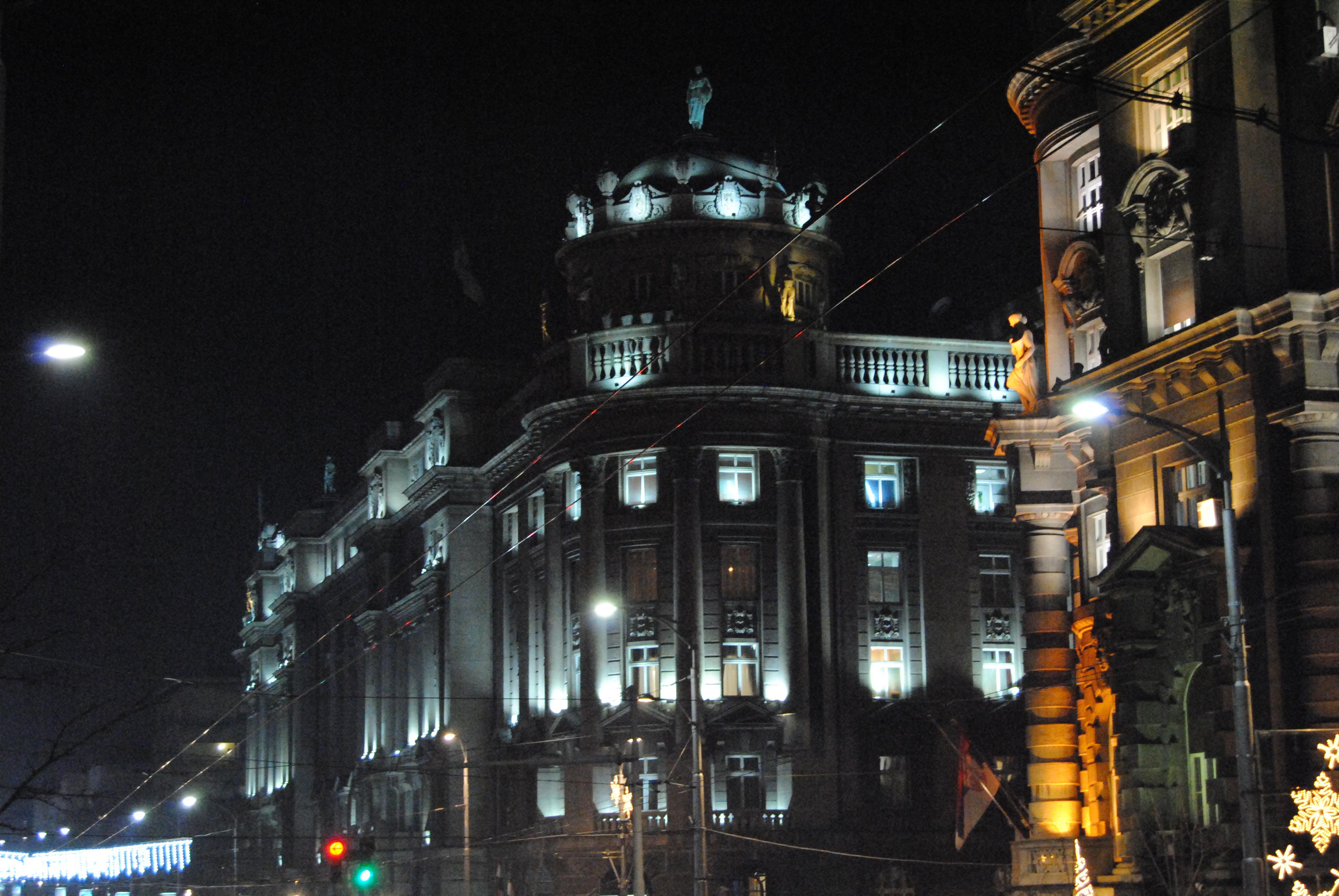 Садашње стање на згради, новембар 2016. Фото: Милош Старчевић, Београдске.рс