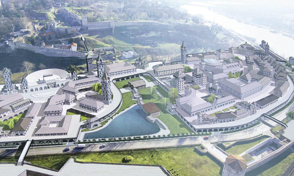 Деспотов град - идеја која је изненадила стручну јавност Фото: Ало
