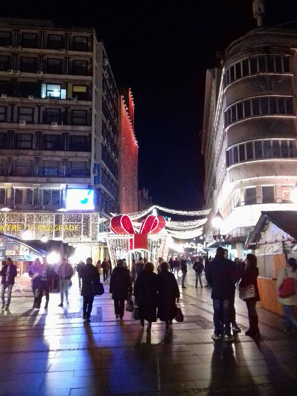 Новогодишња расвета у Београду Фото:Београдске.рс