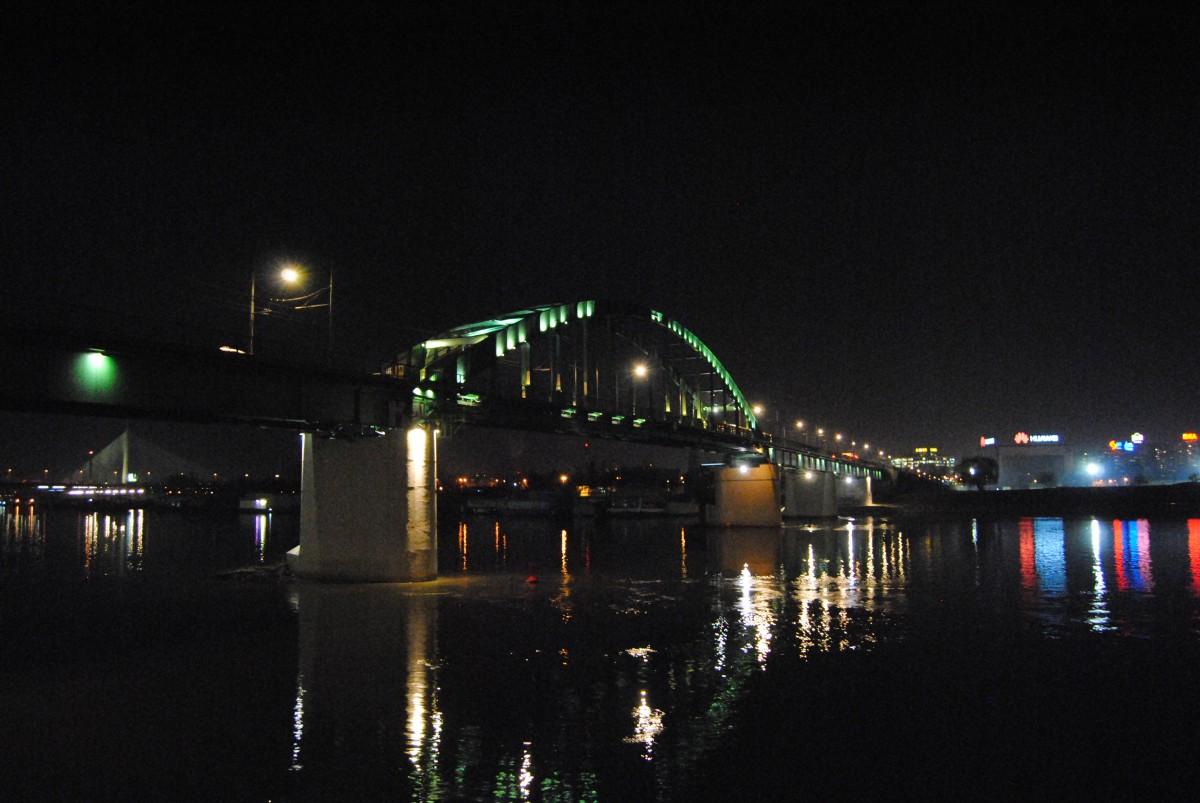 Мост М. Зарића тренутно Фото: Београдске.рс