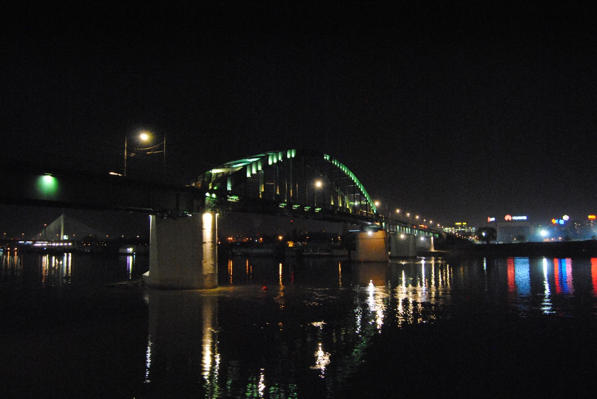 Стари савски мост тренутно Фото: Београдске.рс