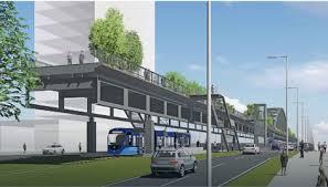 Мост какав би требало да буде после реконструкције 2018. Фото: Дирекција за изградњу