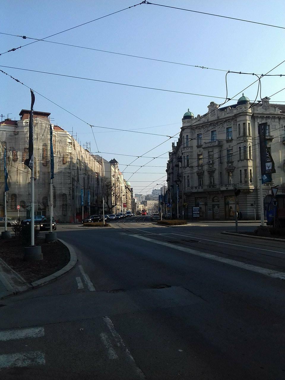 Фасаде у Карађорђевој улици Фото: Београдске.рс