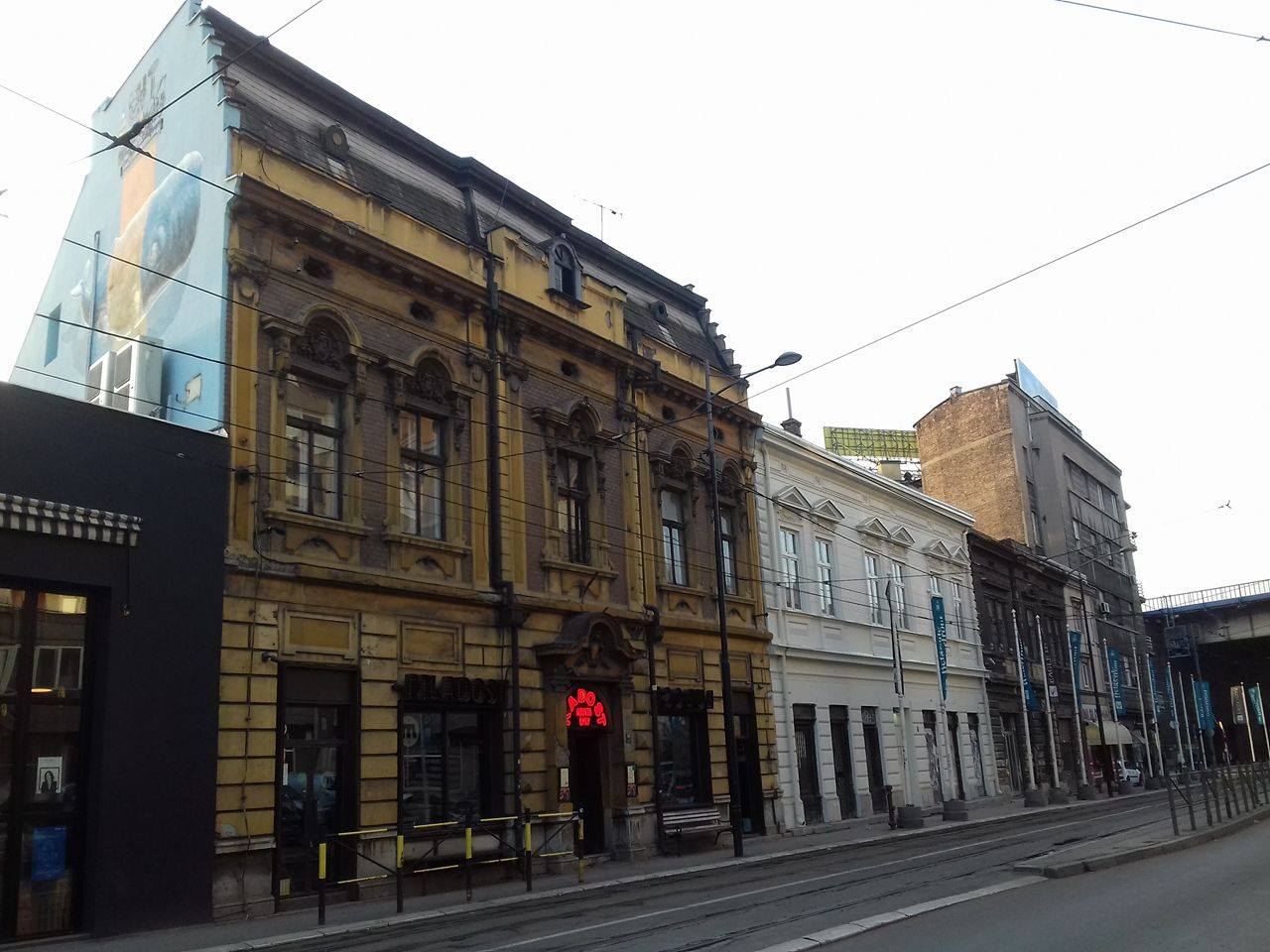 Фасада која је обновљена Фото: Београдске.рс