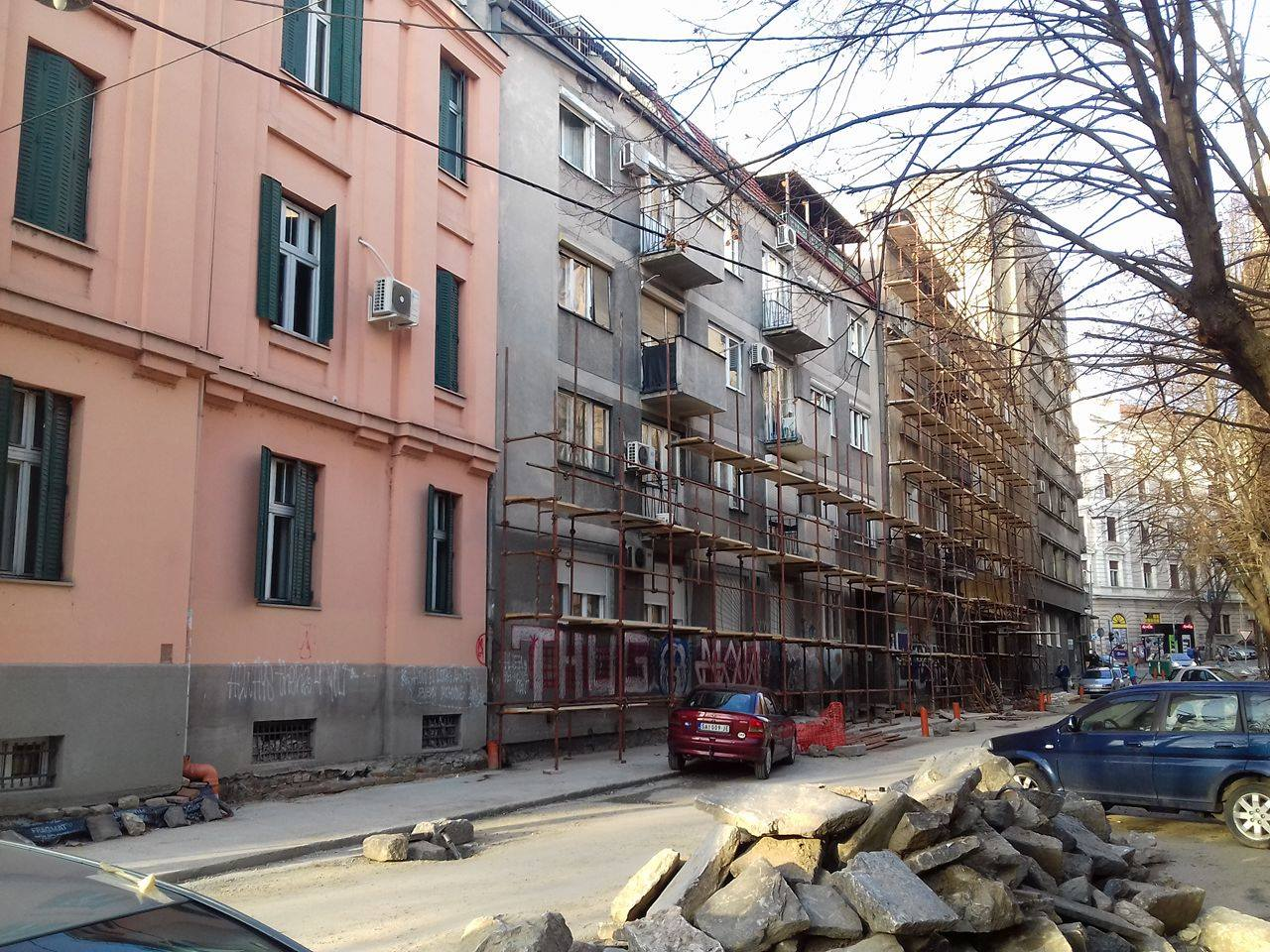 Фасаде Косанчићев венац Фото: Београдске.рс