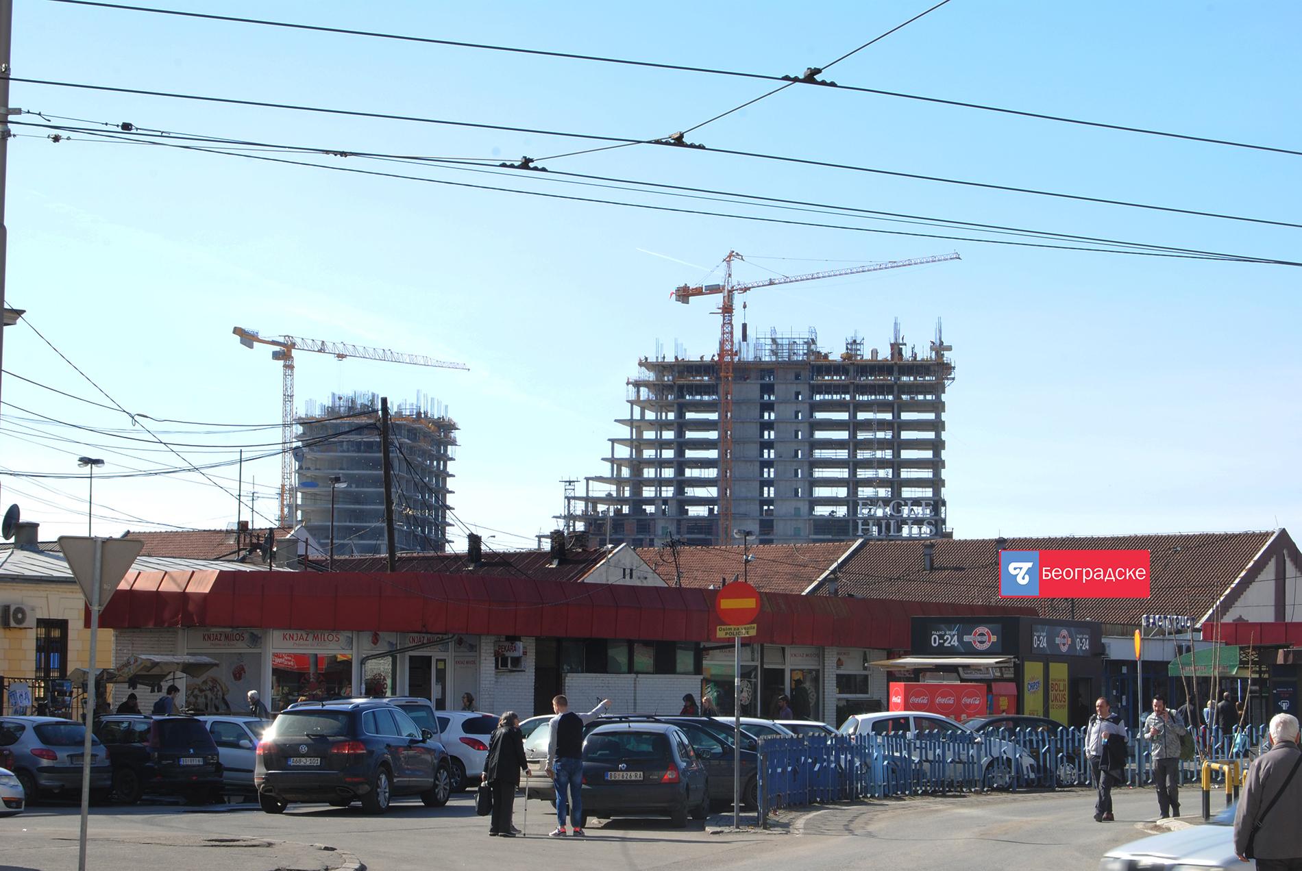 Поглед са Савког трга Фото: Милош Старчевић