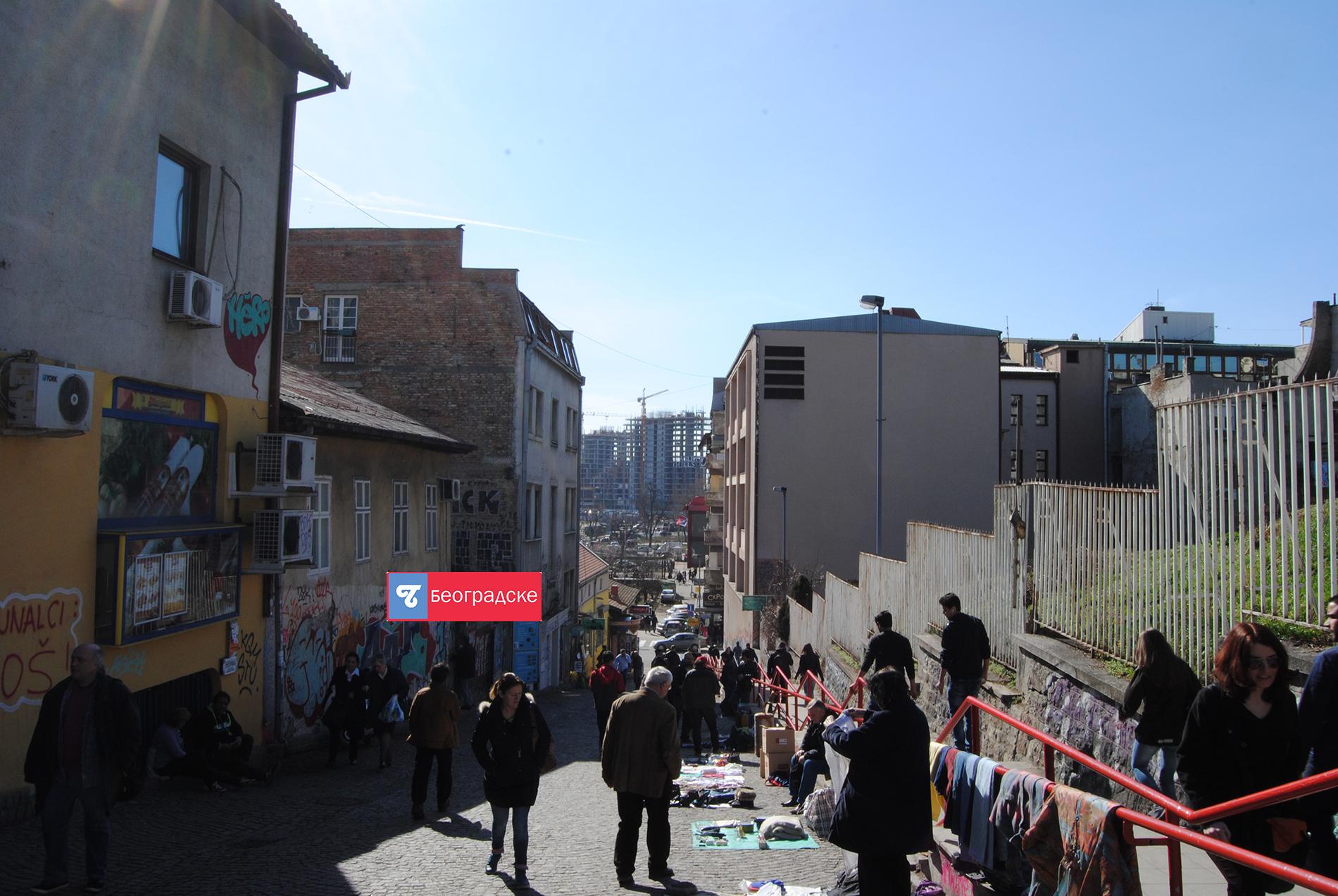 Београд на води из Каменичке улице Фото: Милош Старчевић
