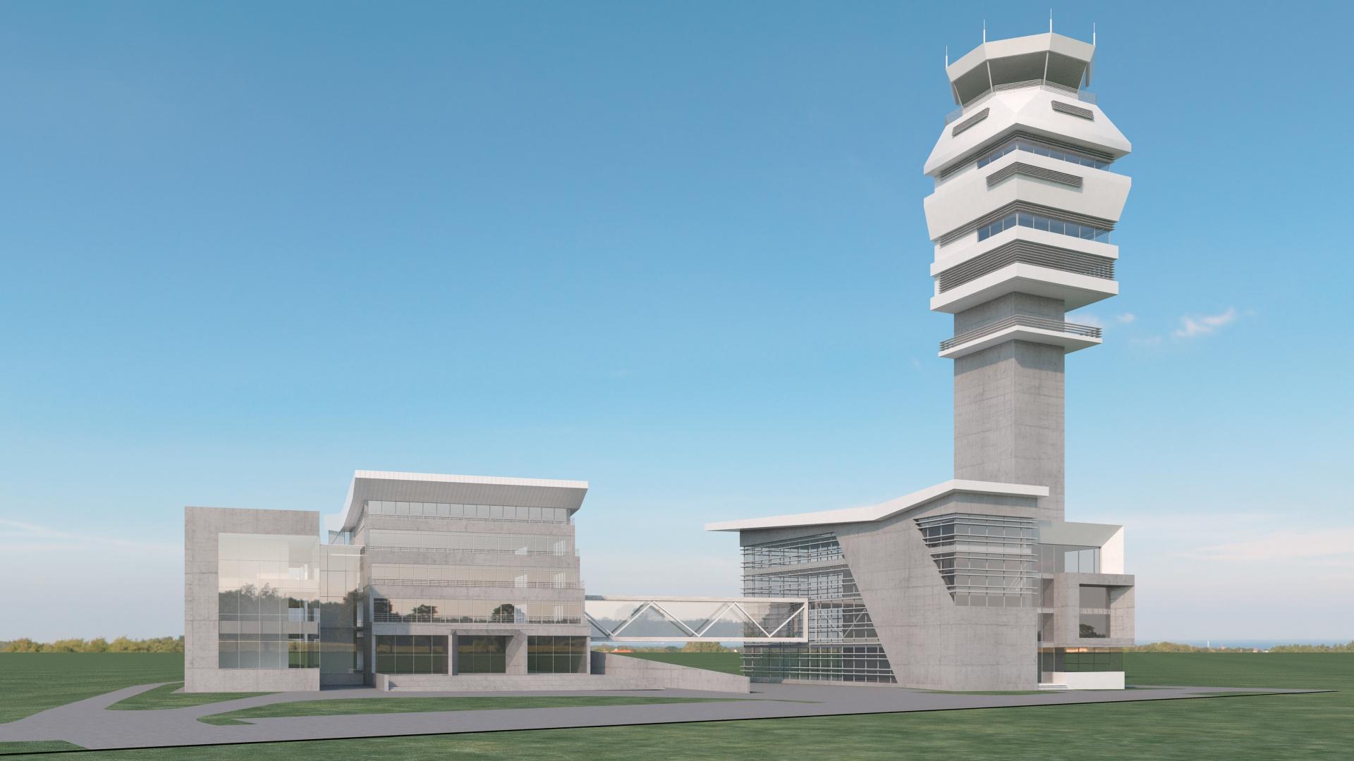 Нови контролни торањ Фото: СМАТСА